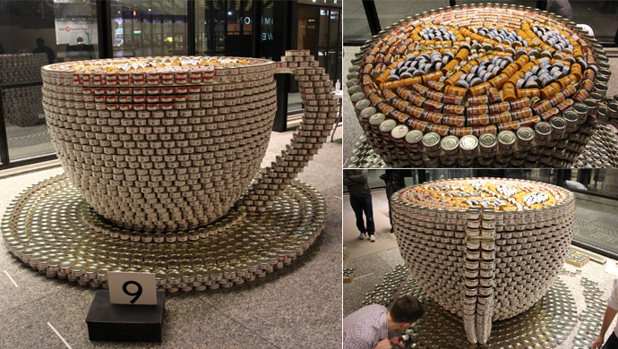 Canstruction banner 2