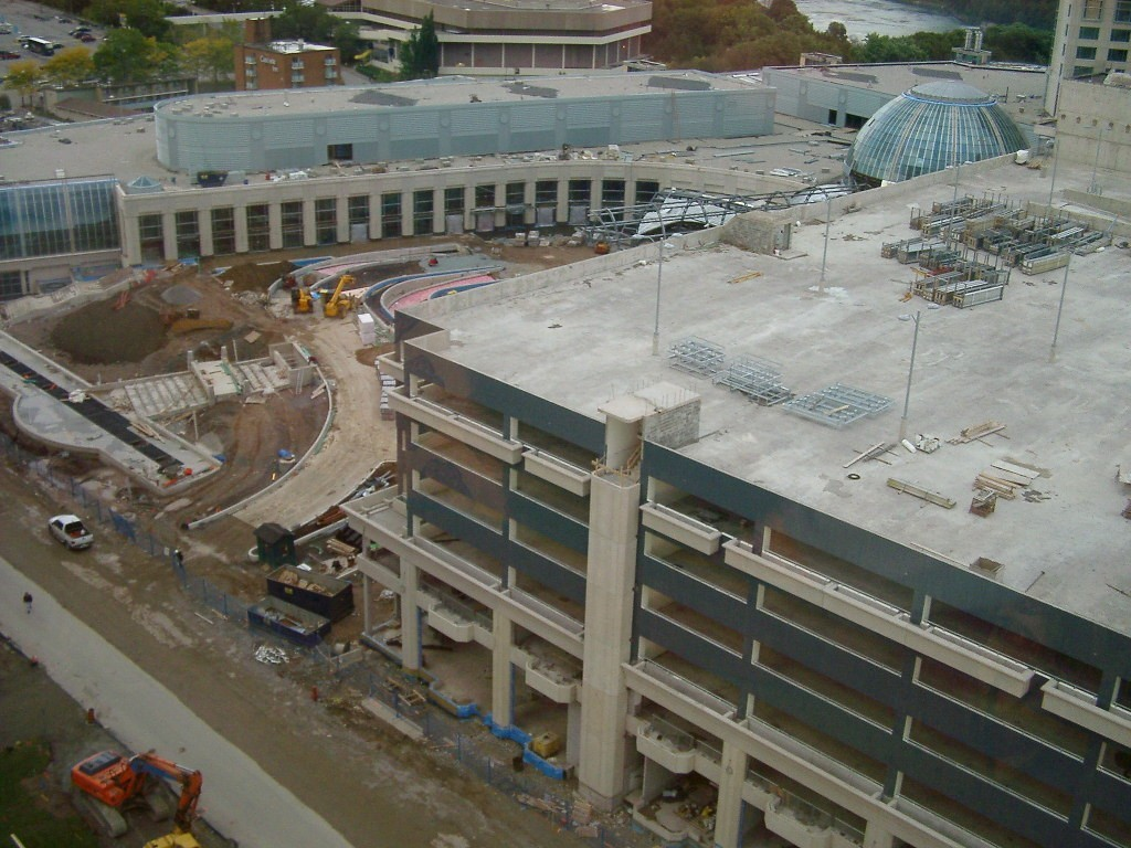 Niagara casino parking