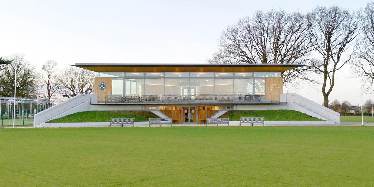 J M Mills Cricket Pavilion