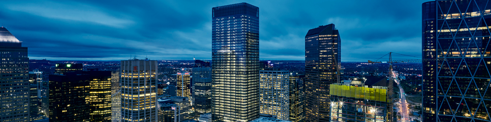 Aerial Image of Brookfield Place Calgary