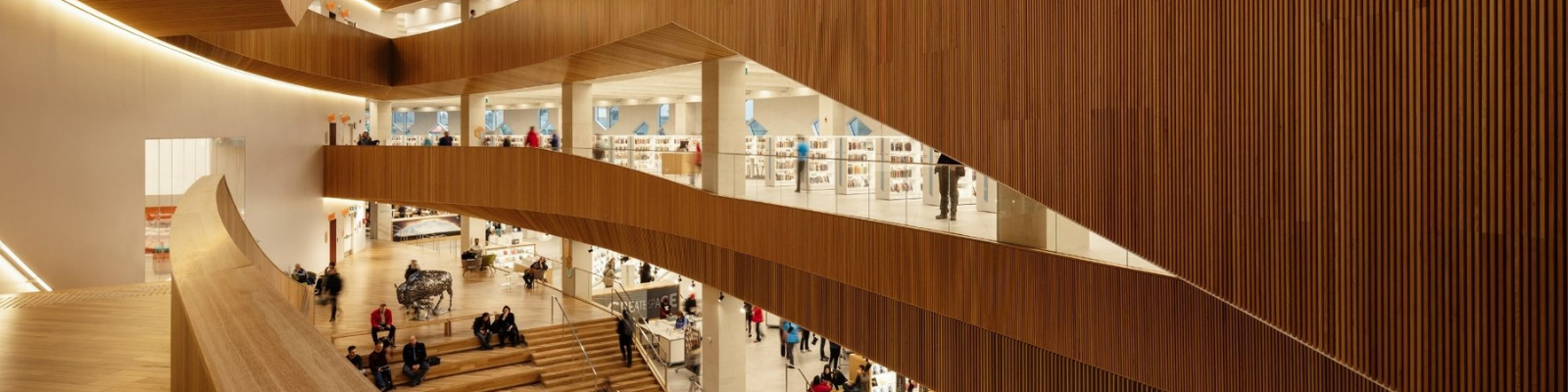 Interior of New Central Library