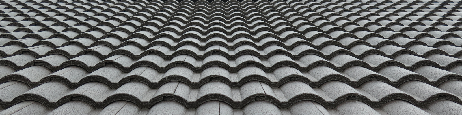 Close up image of a roof