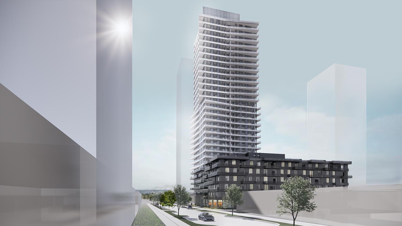 6615 Telford Residential Building Rendering