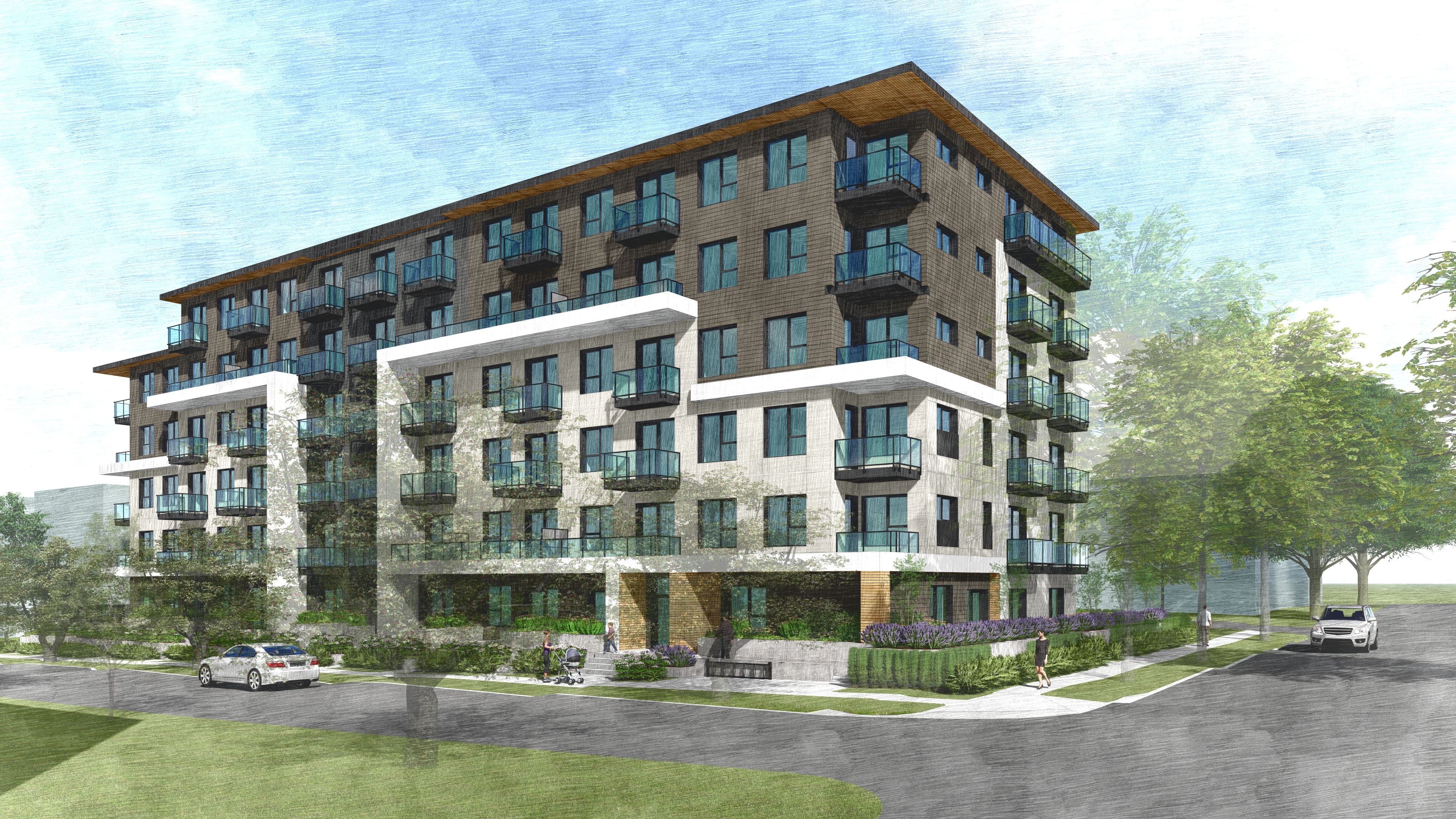 8725 French Street Affordable Housing Rendering